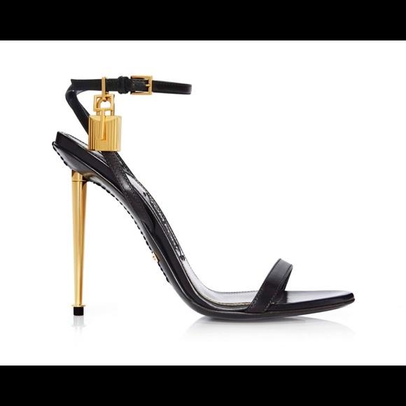 Tom Ford Padlock Naked Strap Sandal